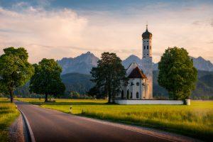 St. Coloman Kirche, Schwangau in Bayern, Deutschland.