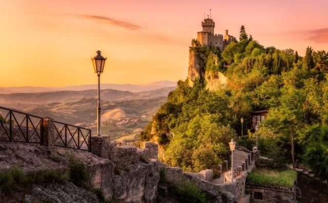 City Wall and Tower of San Marino