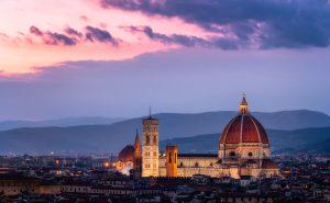 Kathedraal van Florence - Cattedrale di Santa Maria del Fiore in Italië.