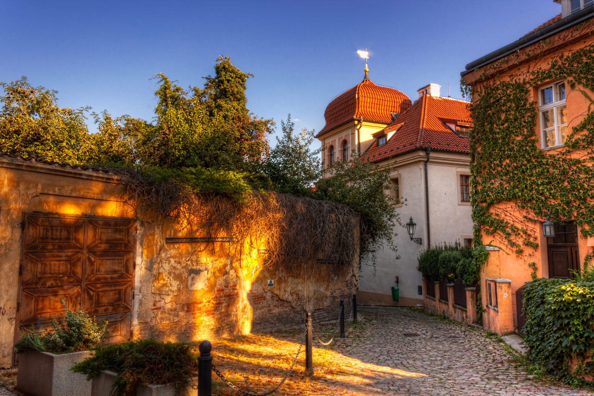 Golden Alley in Prague