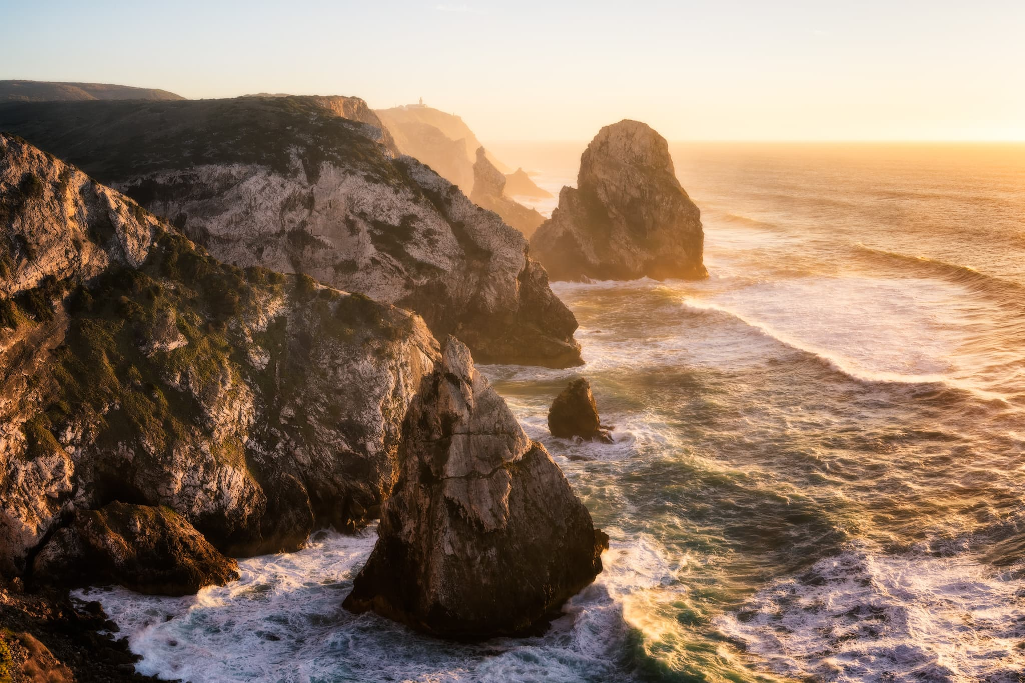 Cabo da Roca in Sintra – a trip from Lisbon; Portugal.
