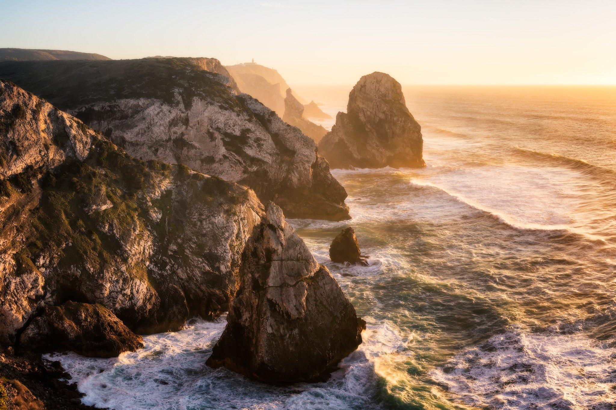 Cabo da Roca in Sintra - een reis vanuit Lissabon; Portugal.