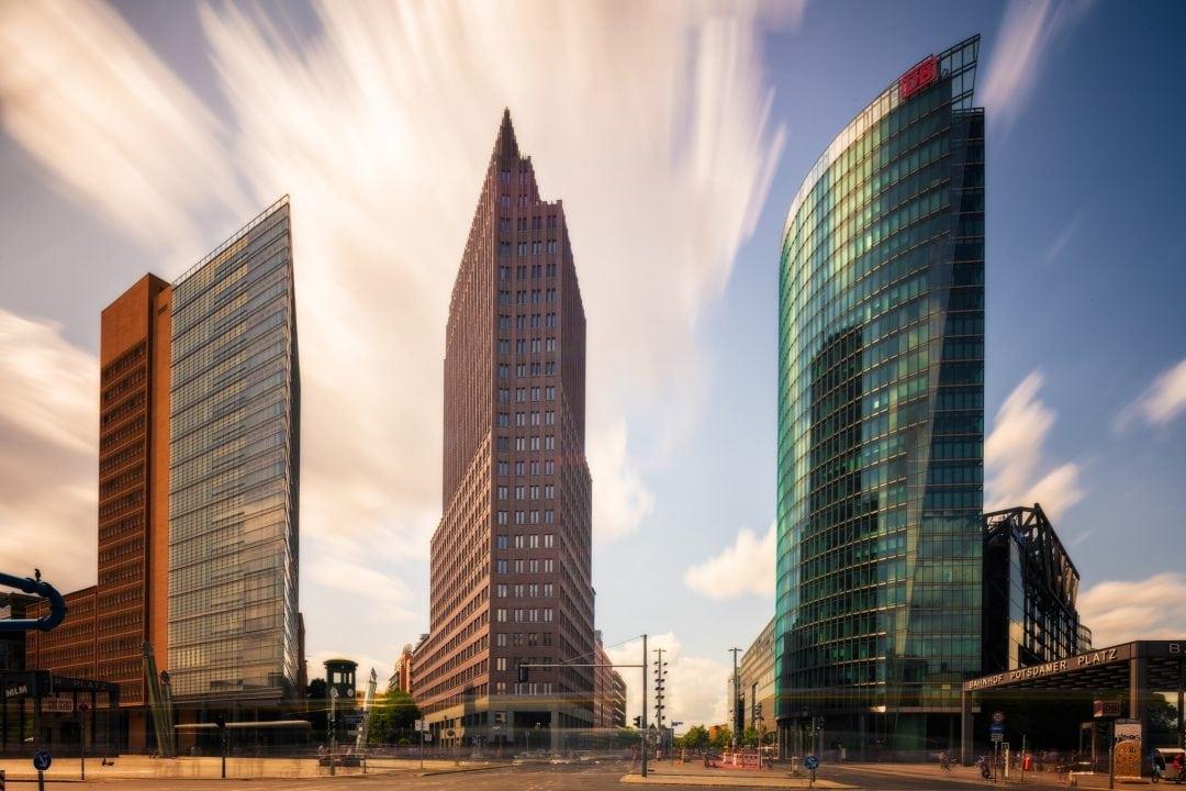Berlin Potsdamer Platz during daytime; Germany