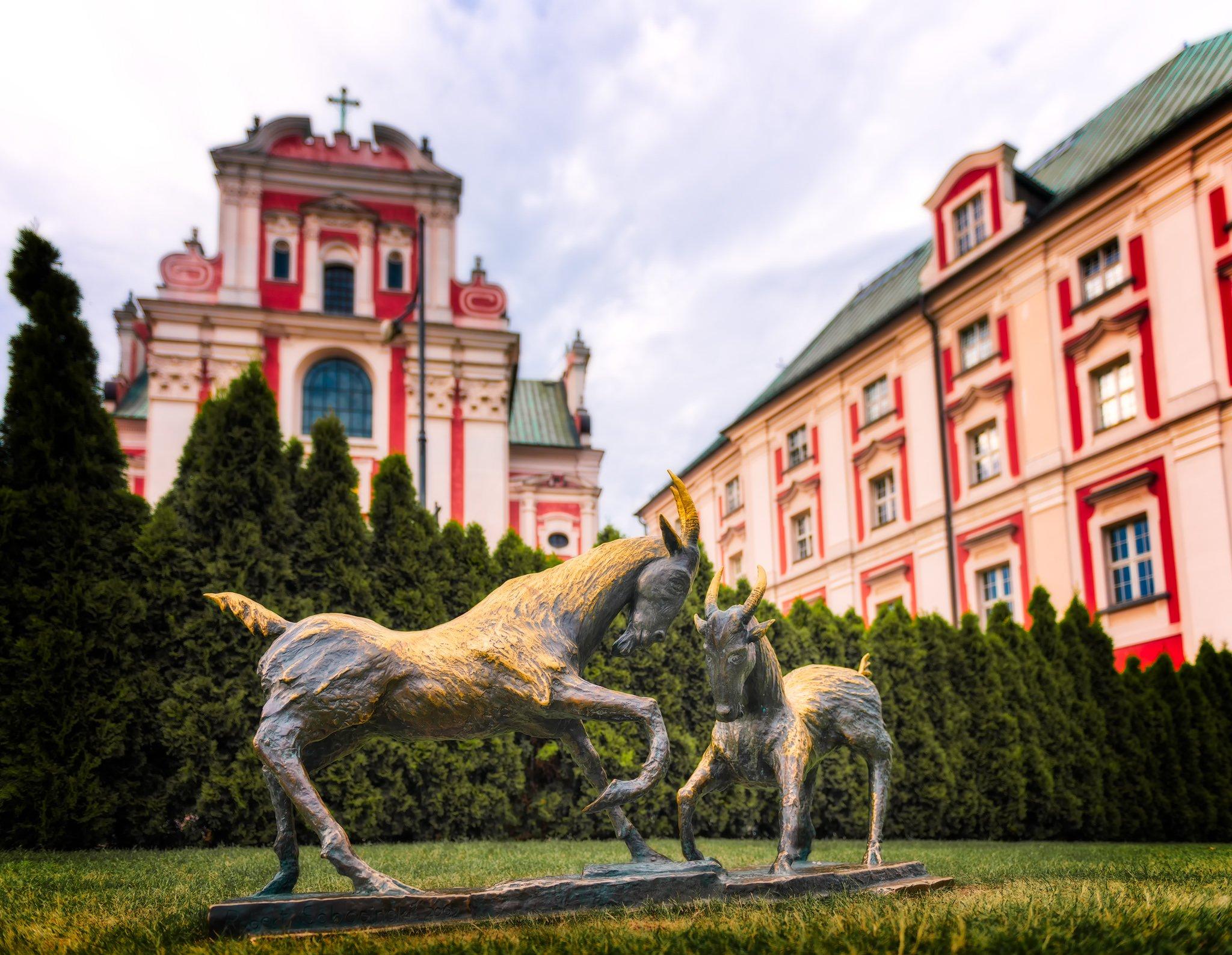 Goats - symbol of Poznan; Poland