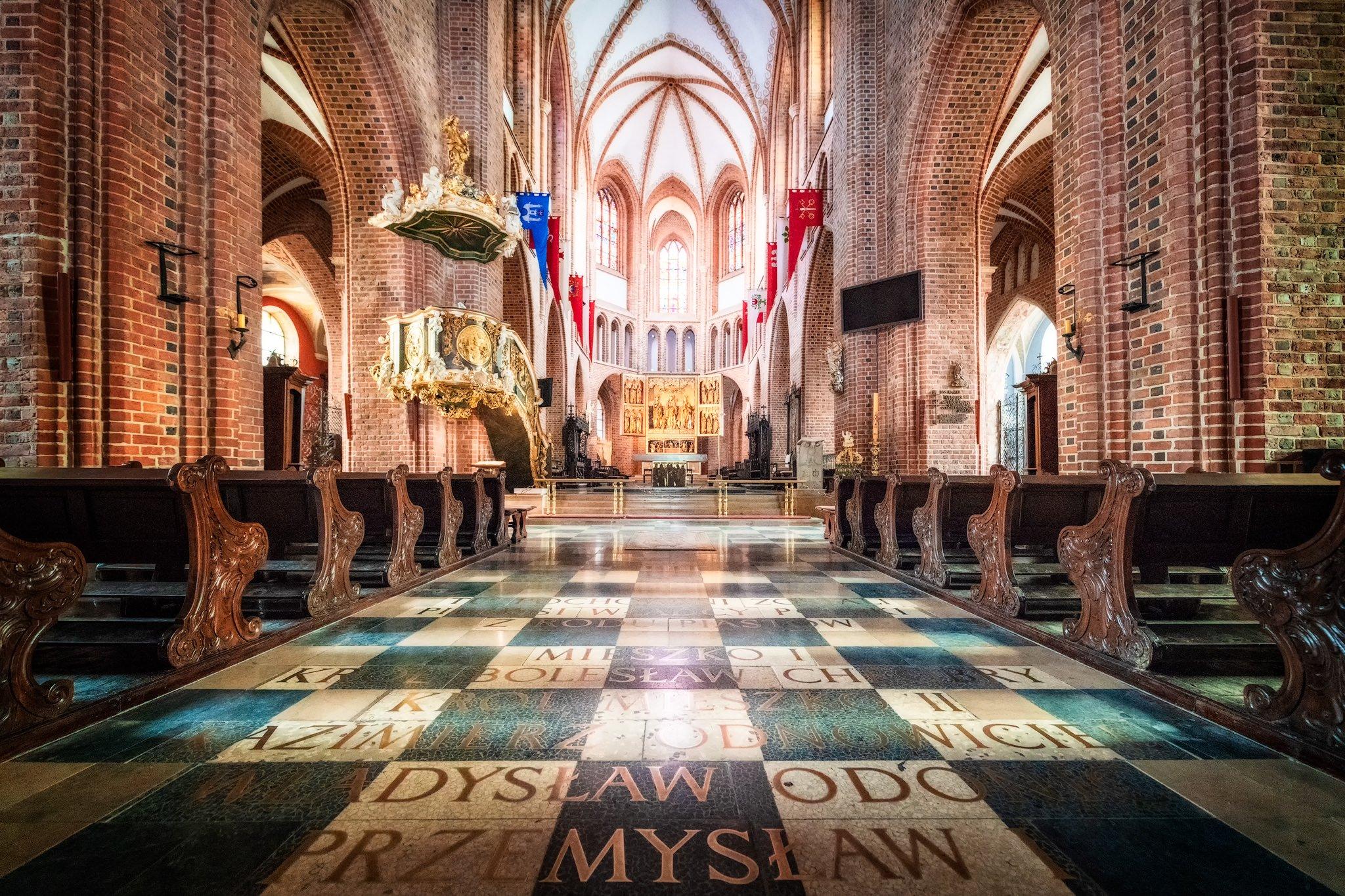 Posener Kathedrale in Ostrów Tumski; Posen, Polen