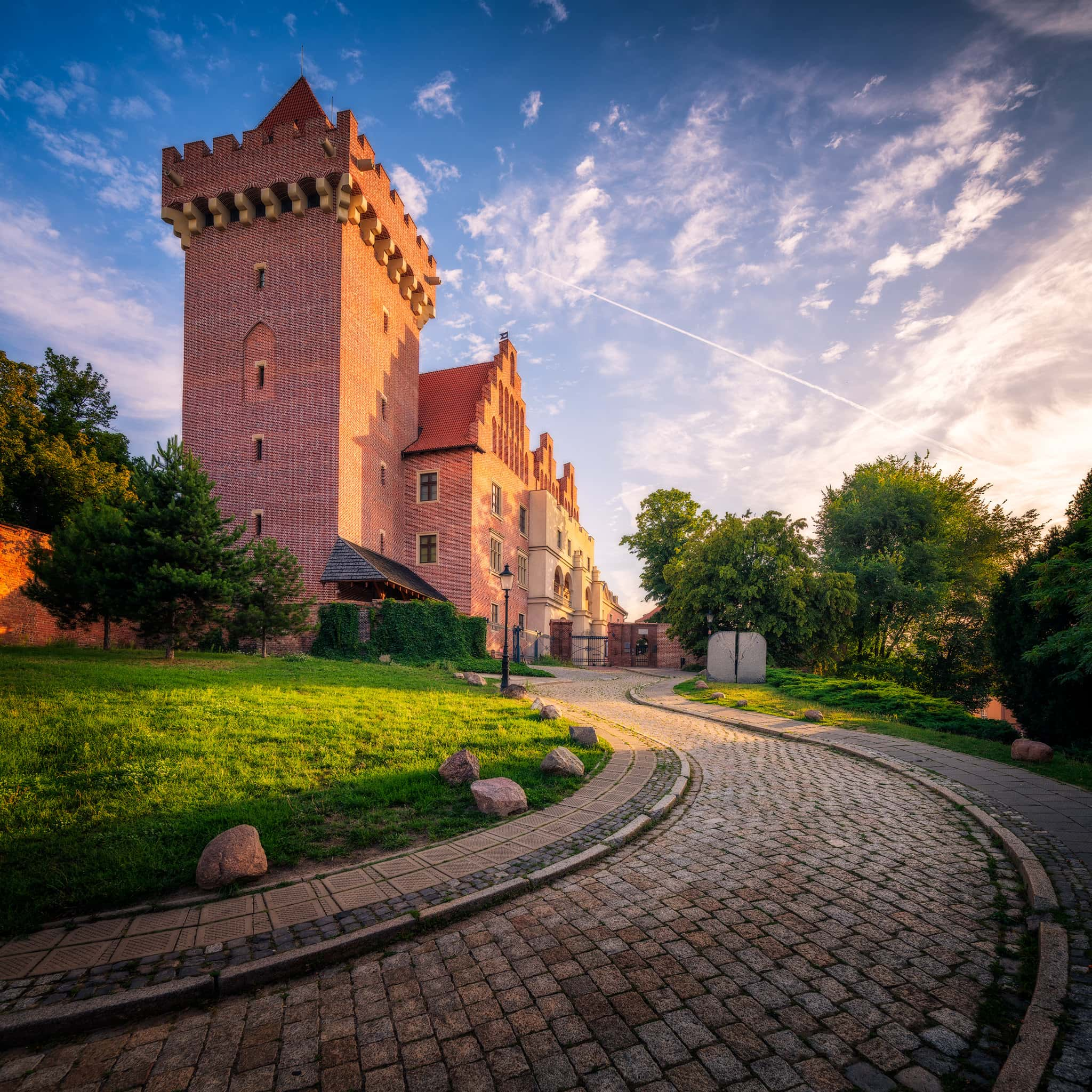 The Royal Castle - a day in Poznan; Poland