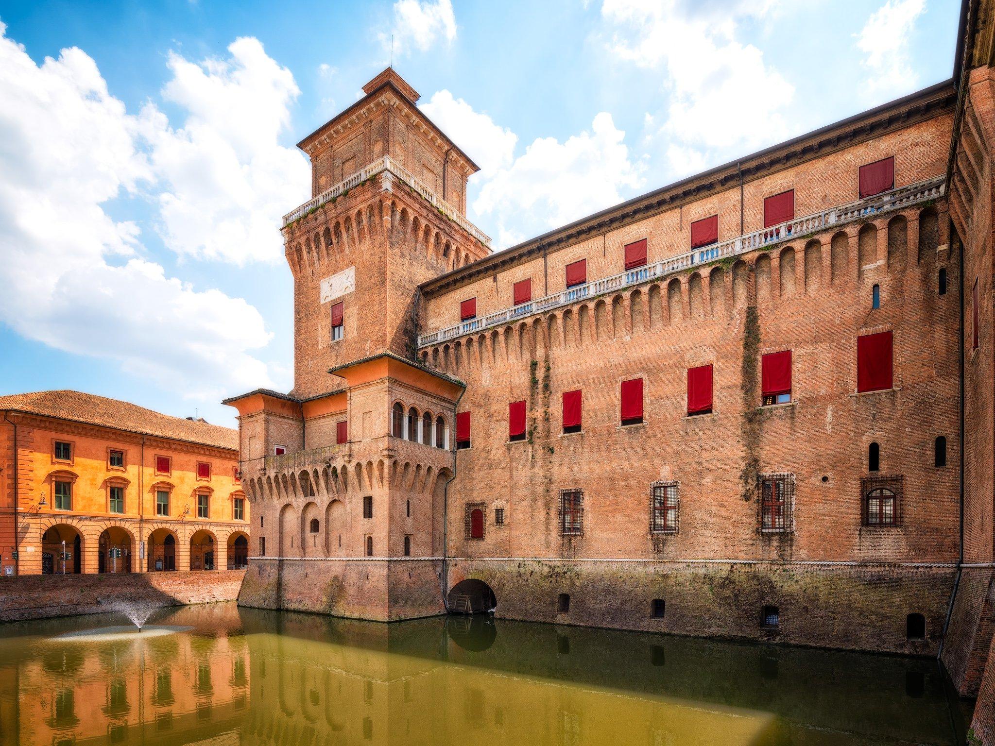 Ferrara Castle/Castello Estense/Castello di San Michele; Italy