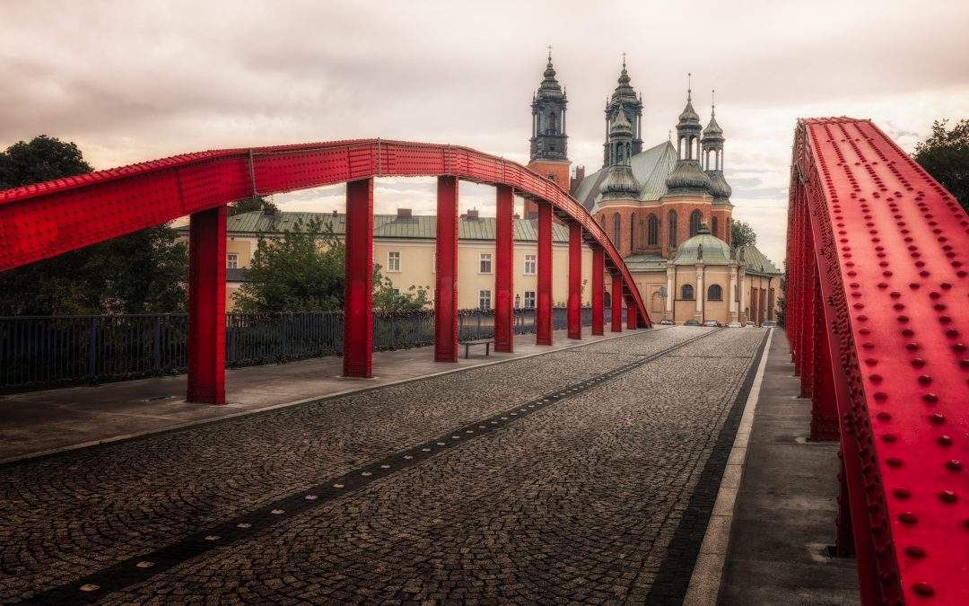 Bishop Jordan Bridge in Poznań | Poland