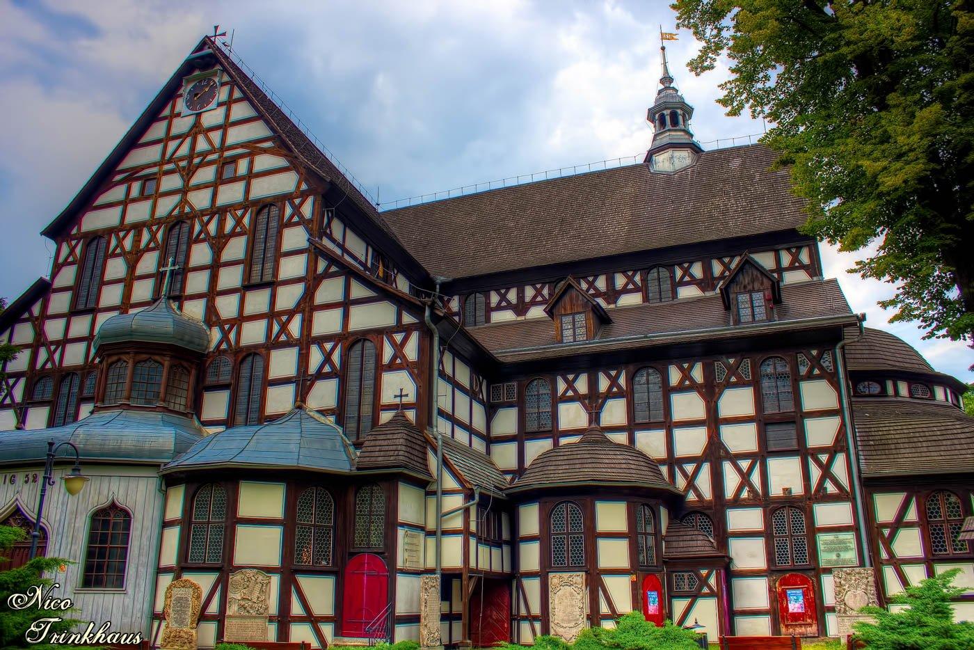 Church of Peace in Swidnica in Poland
