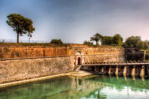 City Walls of Peschiera del Garda in Italy