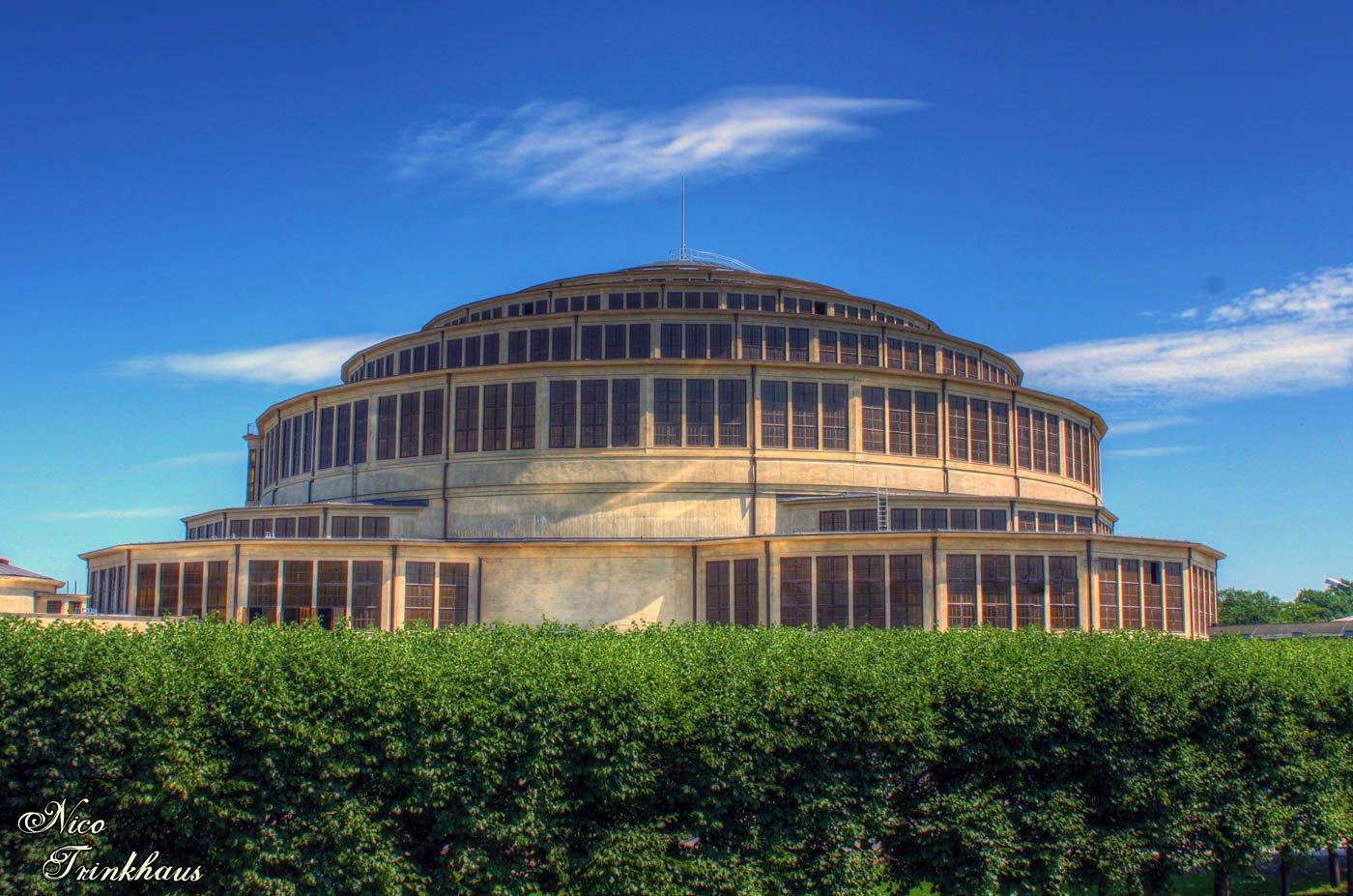 Centennial Hall in Wroclaw (Hala Stulecia), Poland