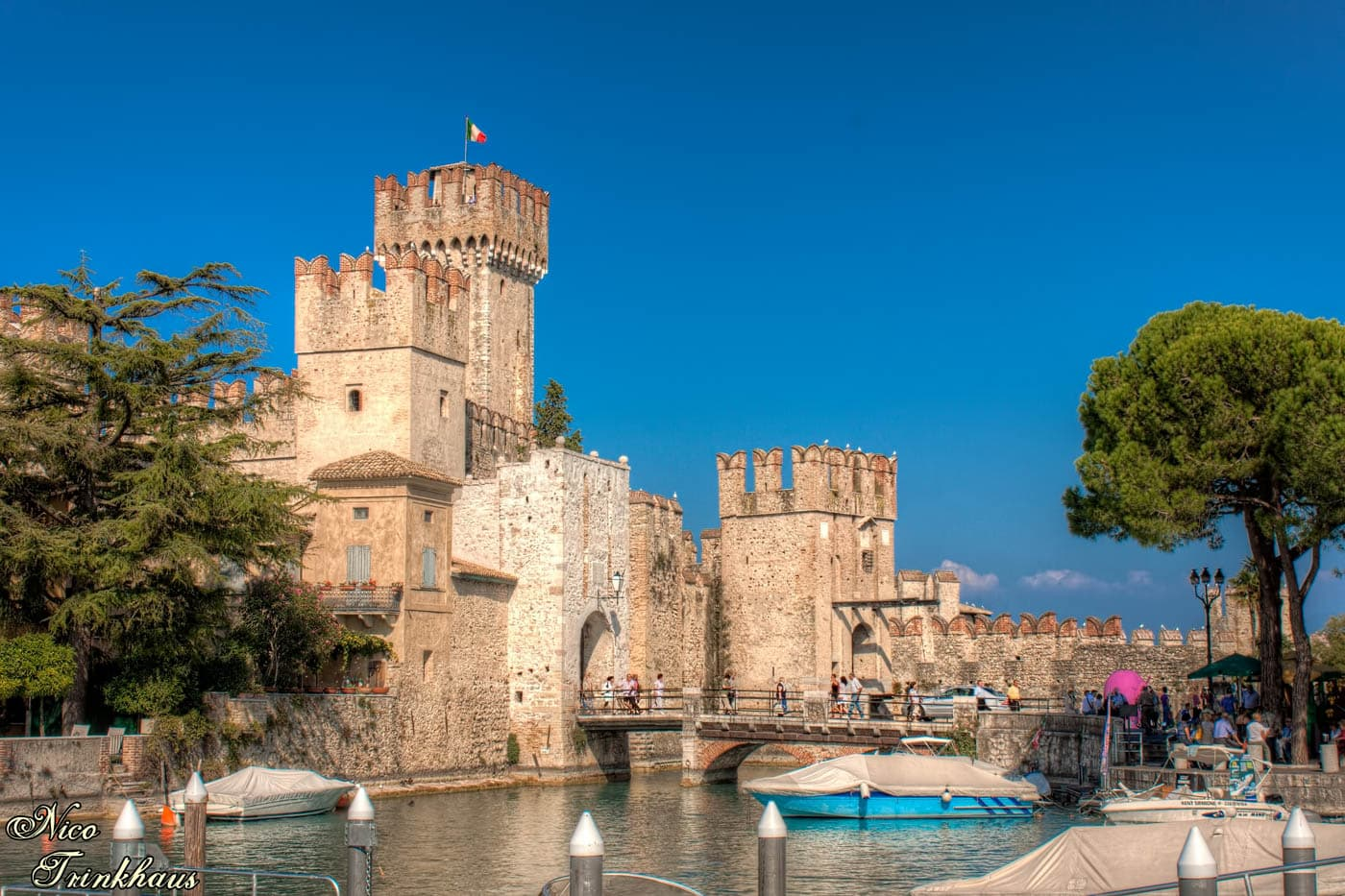 Entrance to Sirmione, Italy