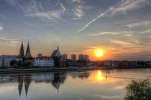 Sunset in Frankfurt (Oder) 1 , Germany