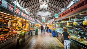 Mercado Central - Valencia's central market; Spain