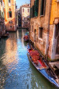Venetian cars, Venice. Italy