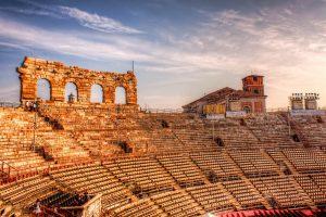 Verona Arena in Italy