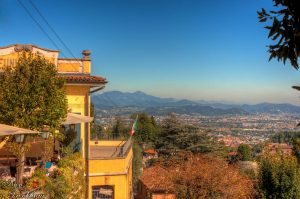 Yellow Restaurant in Bergamo in Italy