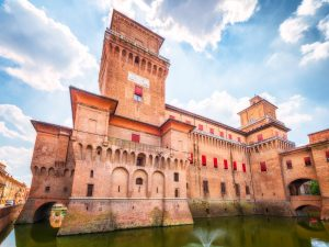 Castello Estense (or Castello di San Michele) - Ferrara, Italy